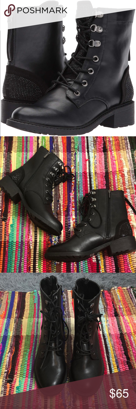 2ac48b3987b3e2 NEW Circus by Sam Edelman Dawson Combat Boots 10W Brand new with tags never  been worn