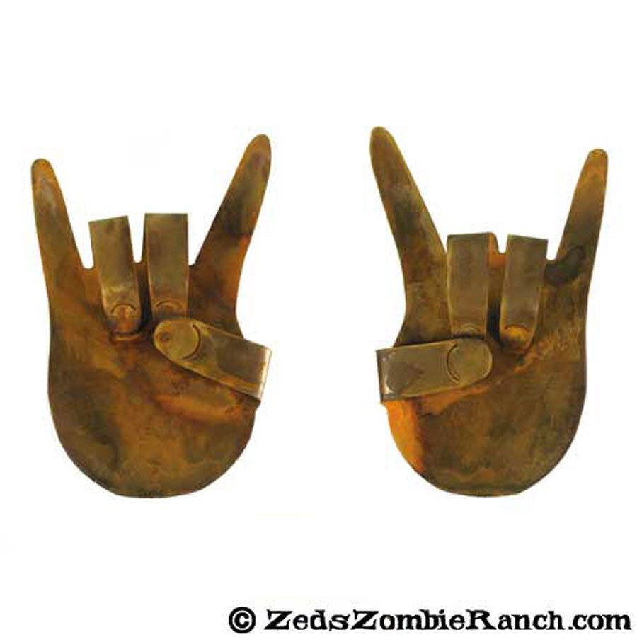 Rock On Hands Refrigerator Magnets (Set of Two) - FREE SHIPPING by zedszombieranch on Etsy https://www.etsy.com/listing/235605073/rock-on-hands-refrigerator-magnets-set