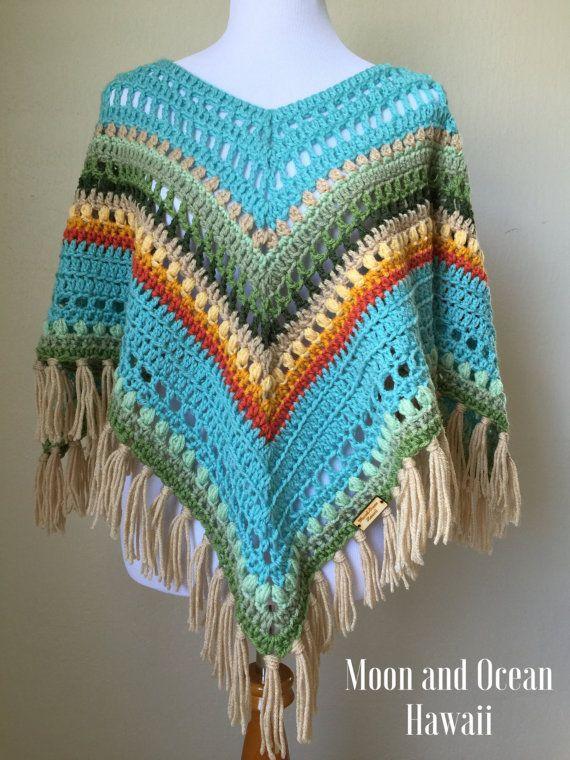Crochet poncho | bolero ..ponchos y mas | Pinterest | Ganchillo ...