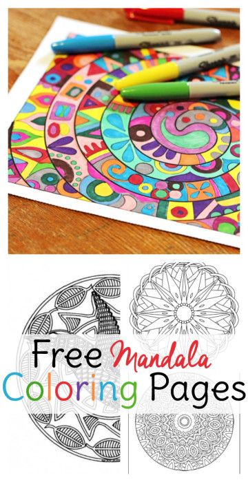 Printable Yoga Coloring Pages : Mandala coloring pages for adults free coloring sheets and