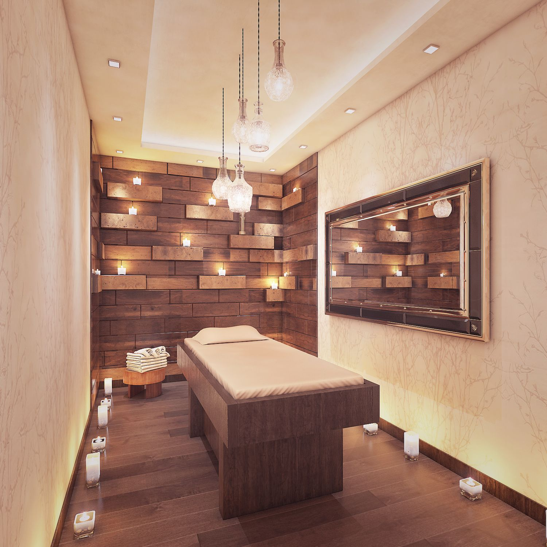 Spa Massage Room Interior Design