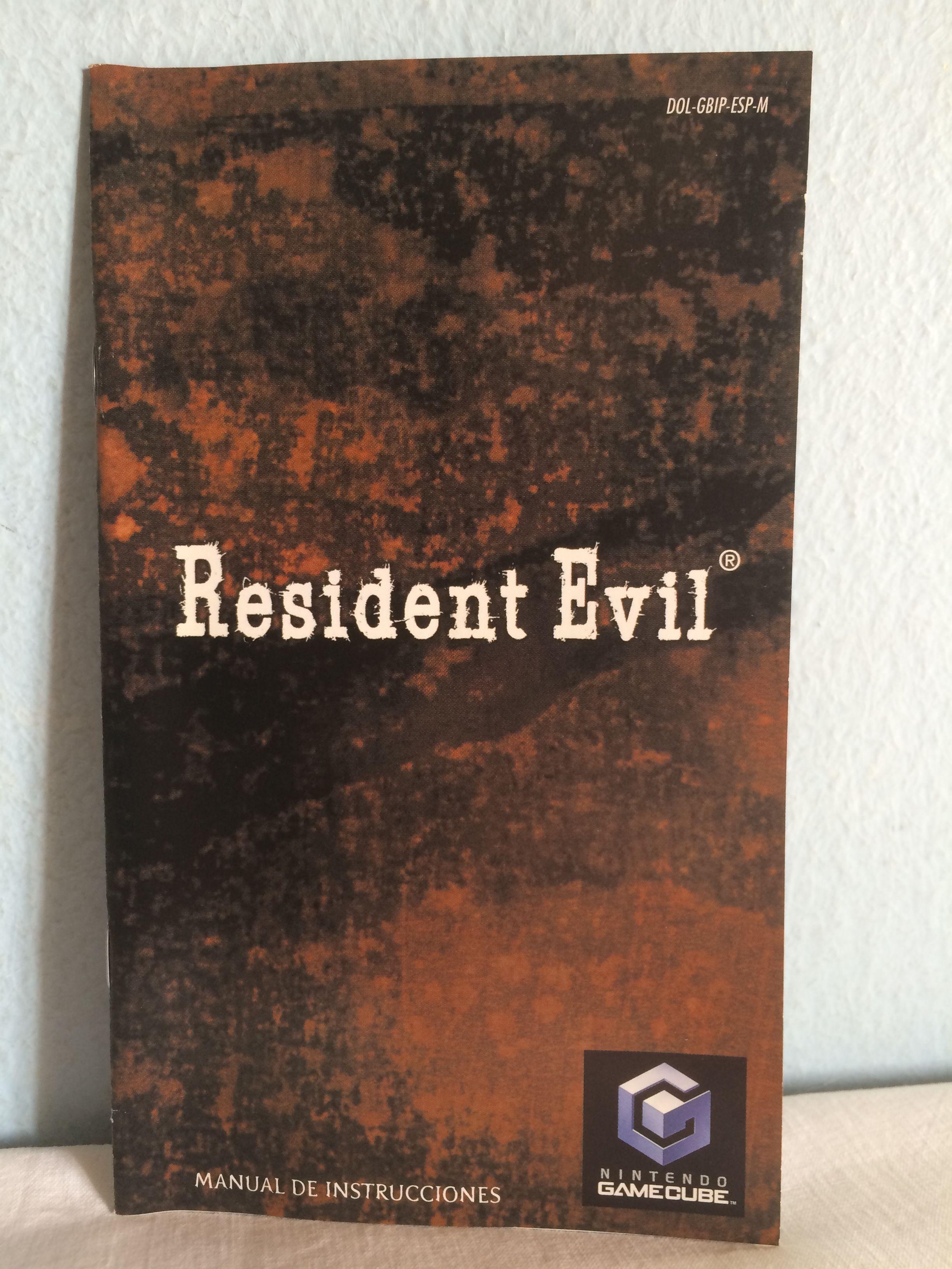 Resident Evil manual.
