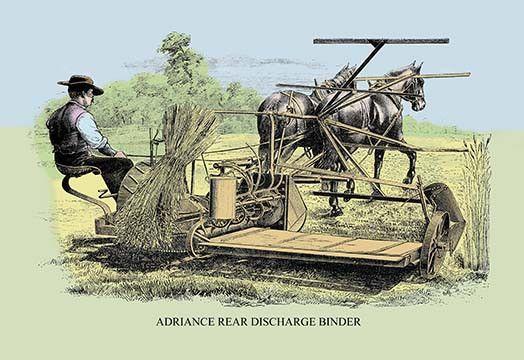 Adriance Rear Discharge Binder