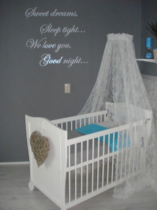 Babykamers op babybytes nasredin zijn kamertje kinderkamer pinterest babies nursery and - Kinderkamer taupe ...