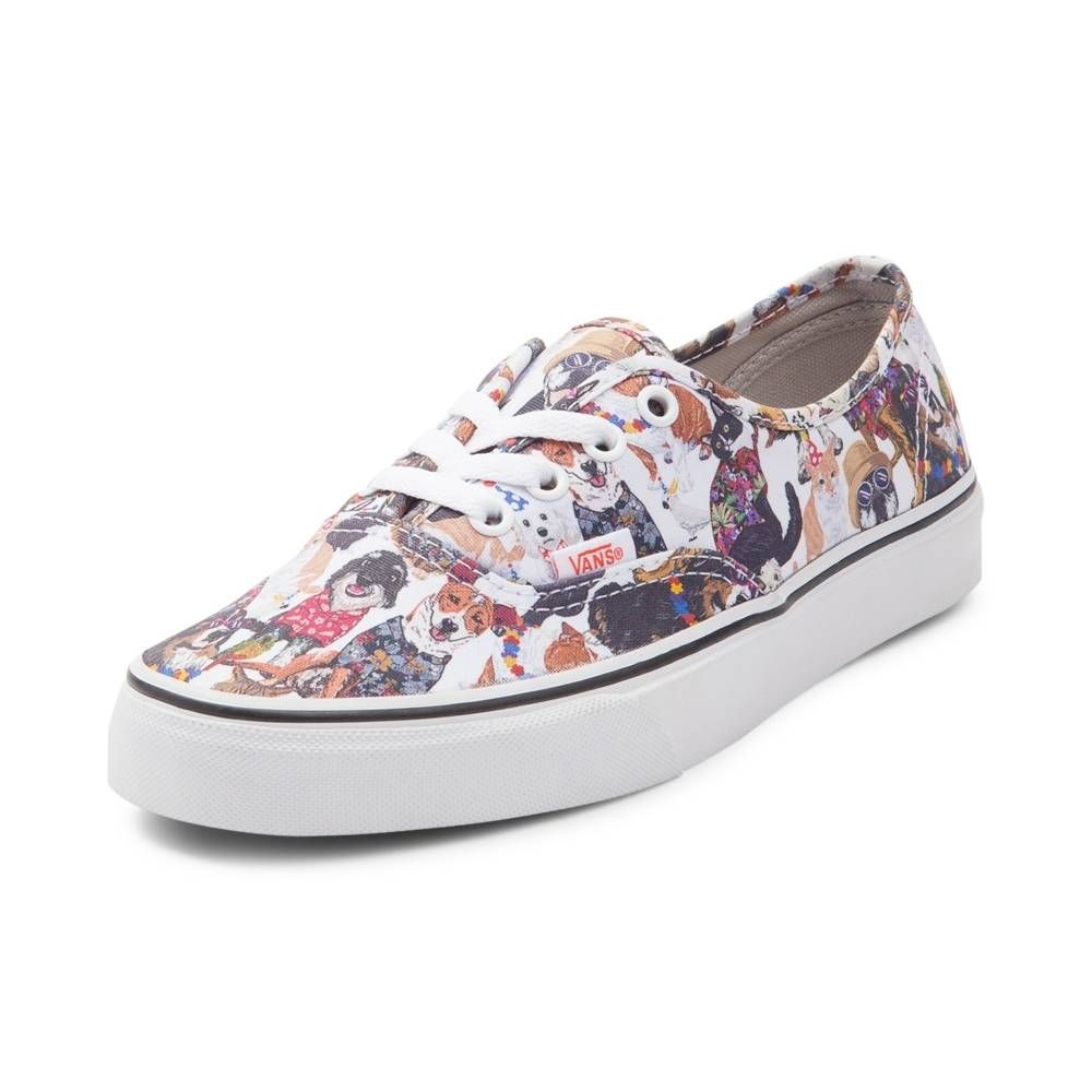 5922facacc1 sale 39.99 Vans Authentic ASPCA Party Animals Skate Shoe