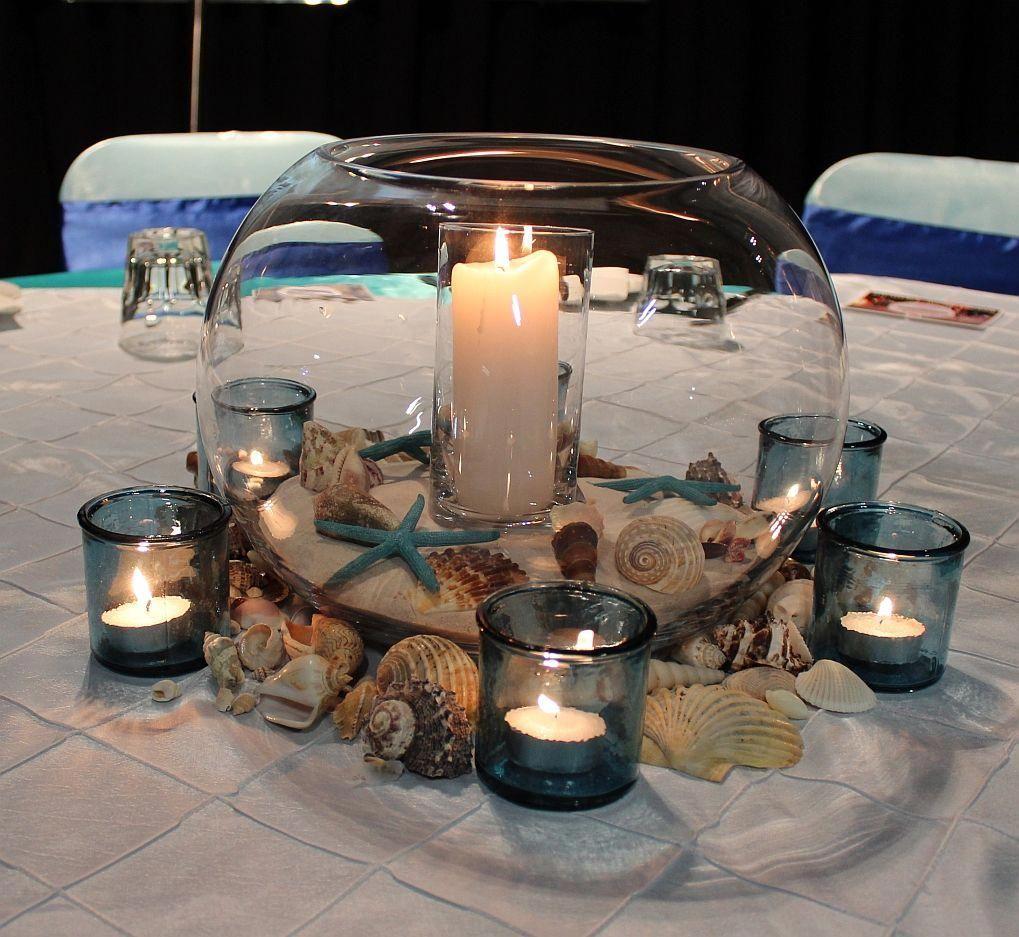 Beach Theme Wedding Table Decorations Event Avenue Launceston