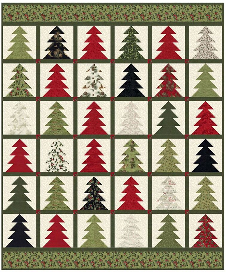 Tree Farm Quilt Sewing Pattern From Coach House Designs Farm Quilt Patterns Quilt Sewing Patterns Farm Quilt