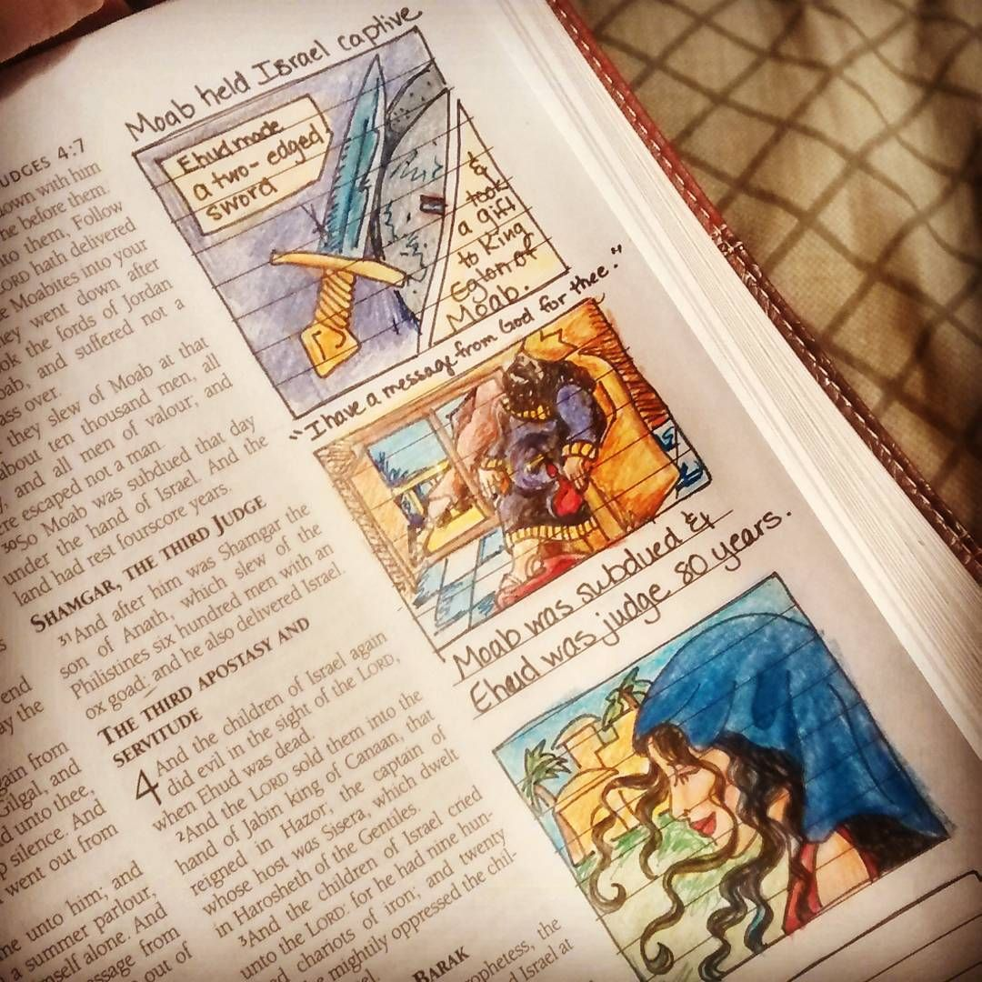 Pin On Judges Bible Journaling By Book