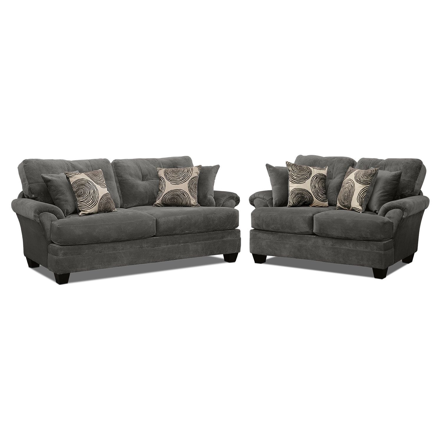 Cordelle Sofa And Loveseat Set Value City Furniture And Mattresses Sofa And Loveseat Set Dining Room Chair Cushions Furniture