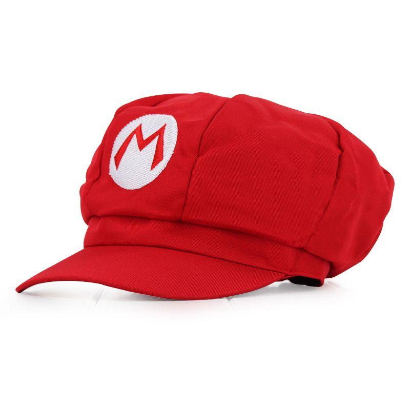 fdcc7b35f45c Click to Buy << lovely cosplay hat Super mario brothers character ...