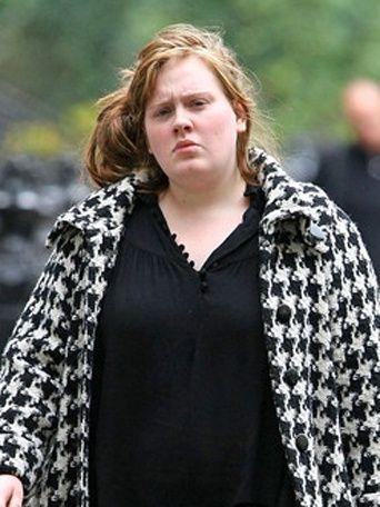 Pin By Maria Steinhof On Adele Adele Without Makeup Adele No Makeup Celebs Without Makeup