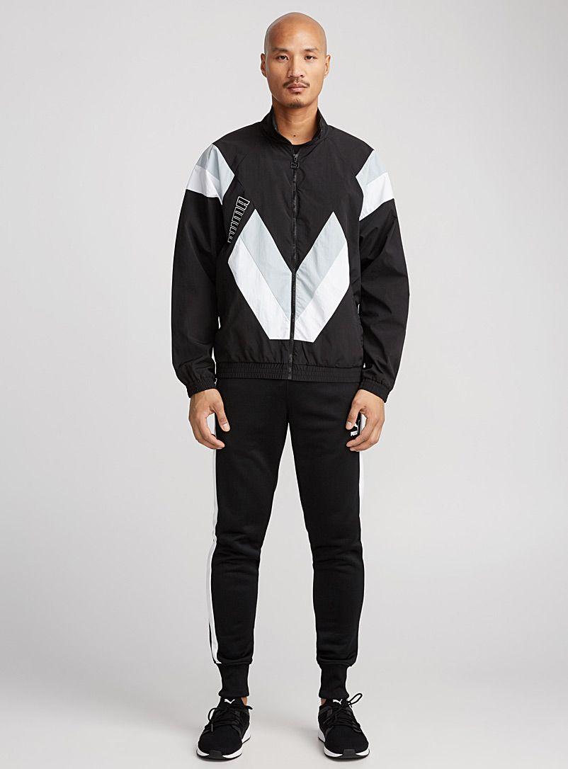 Heritage Track Jacket Puma Shop Men S Jackets Vests Online Simons Mens Outdoor Jackets Vintage Jacket Outdoor Jacket [ 1086 x 802 Pixel ]