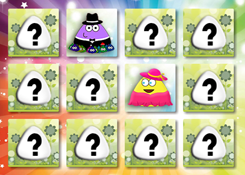 PouJuegos.com - Juego: Pou Memory - Jugar Juegos Gratis Online Flash