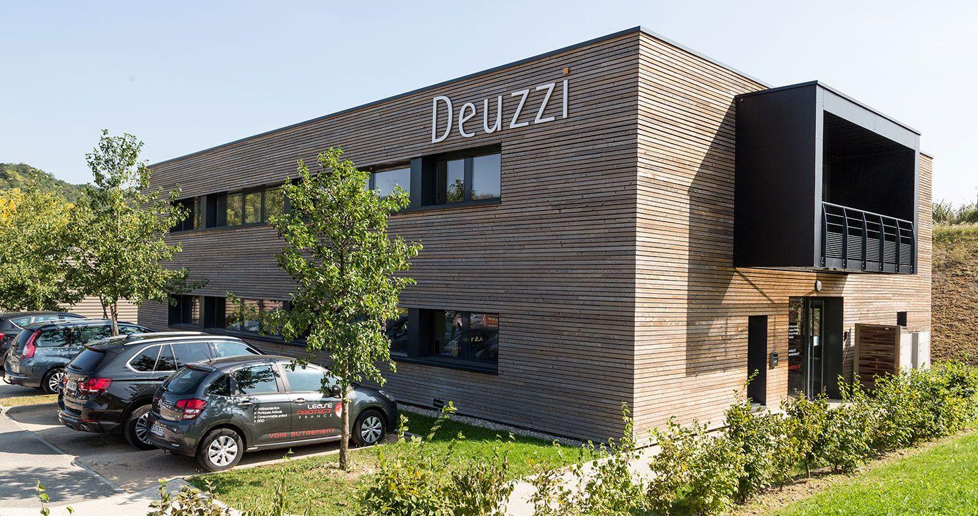 Bureau de deuzzi à lyon architecture conception