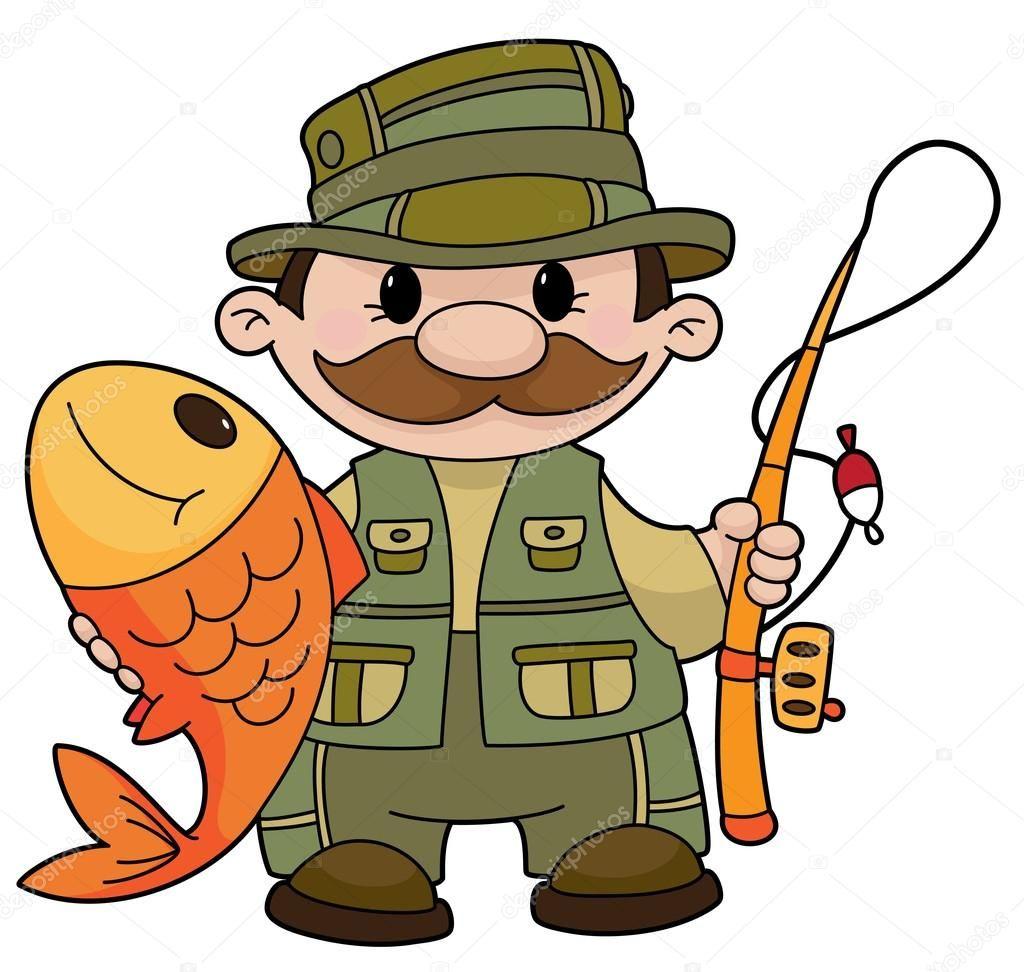 Vysledek Obrazku Pro Kreslena Rybar Omalovanky Cartoon Fish