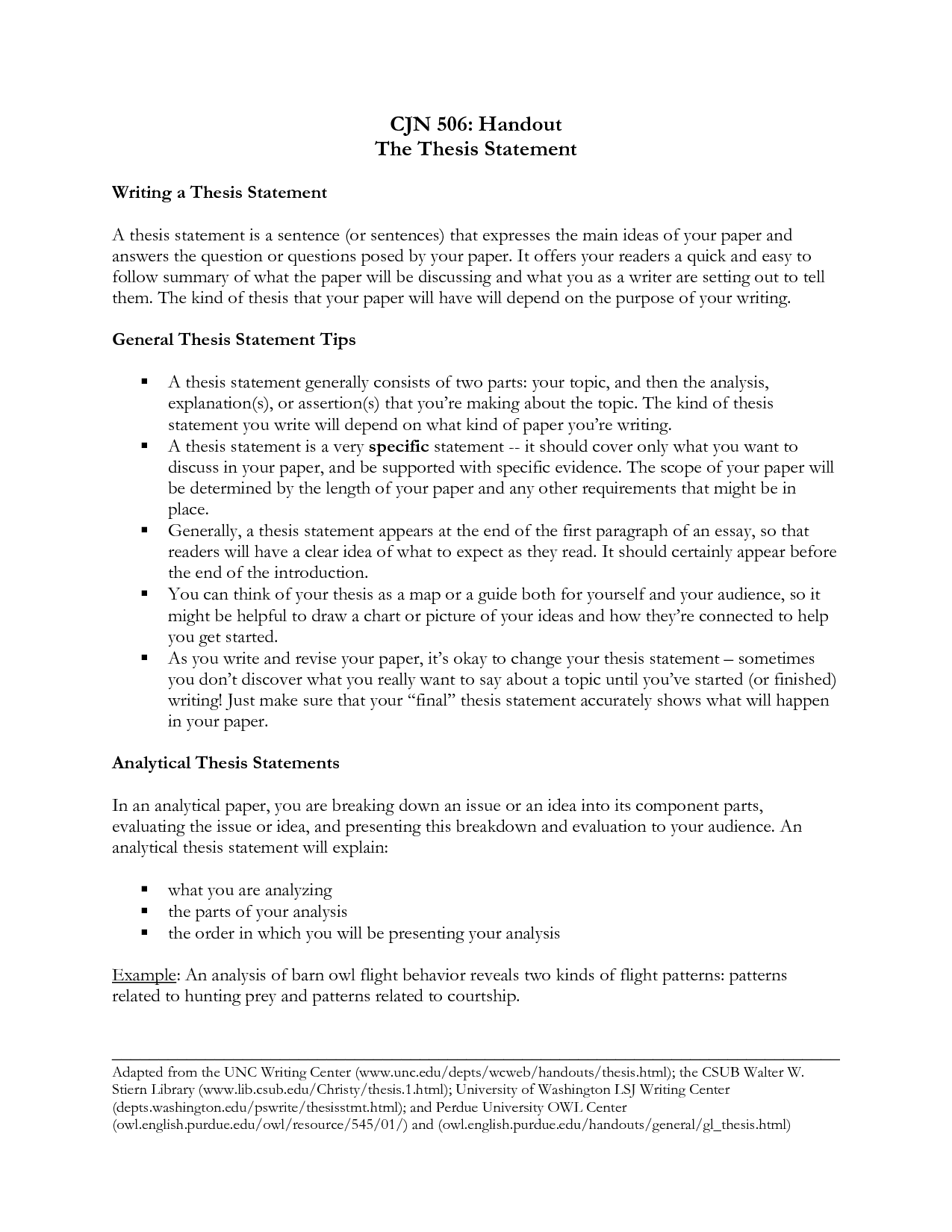 Thesis Statement For Analytical Essay  Thesis    Thesis