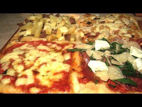 Impasto Pizza Napoletana Fatta In Casa Ricetta Facile E Veloce Youtube Casas Pizza Napoles