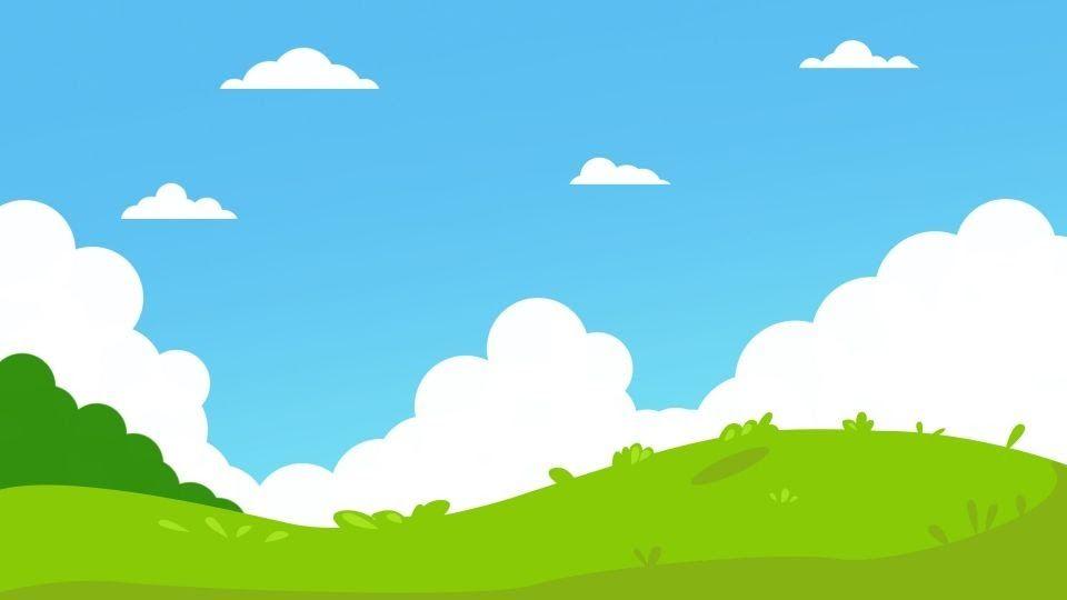 Background Awan Biru Hd