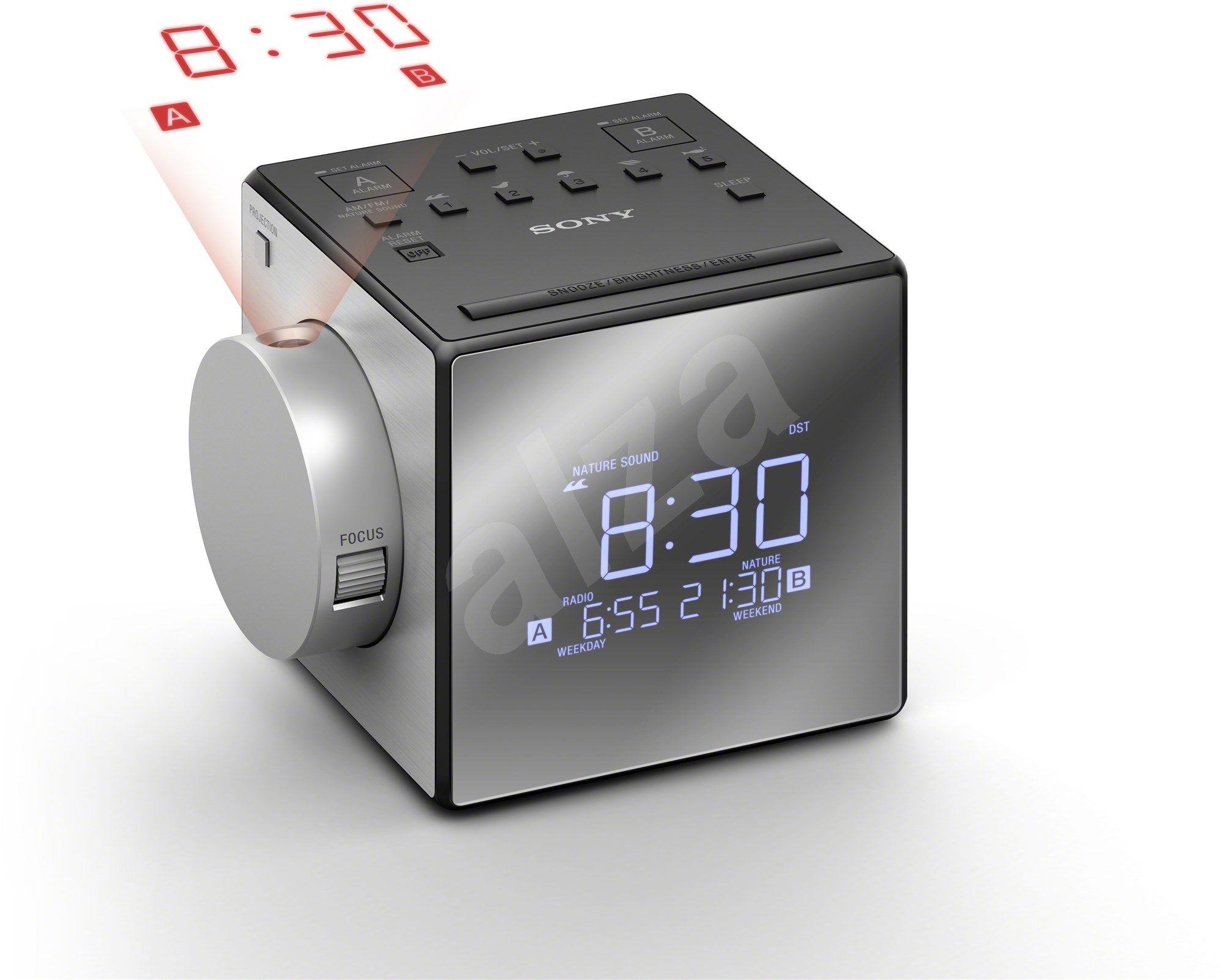 Sony Icf C1pj Radio Alarm Clock Alza Co Uk With Images