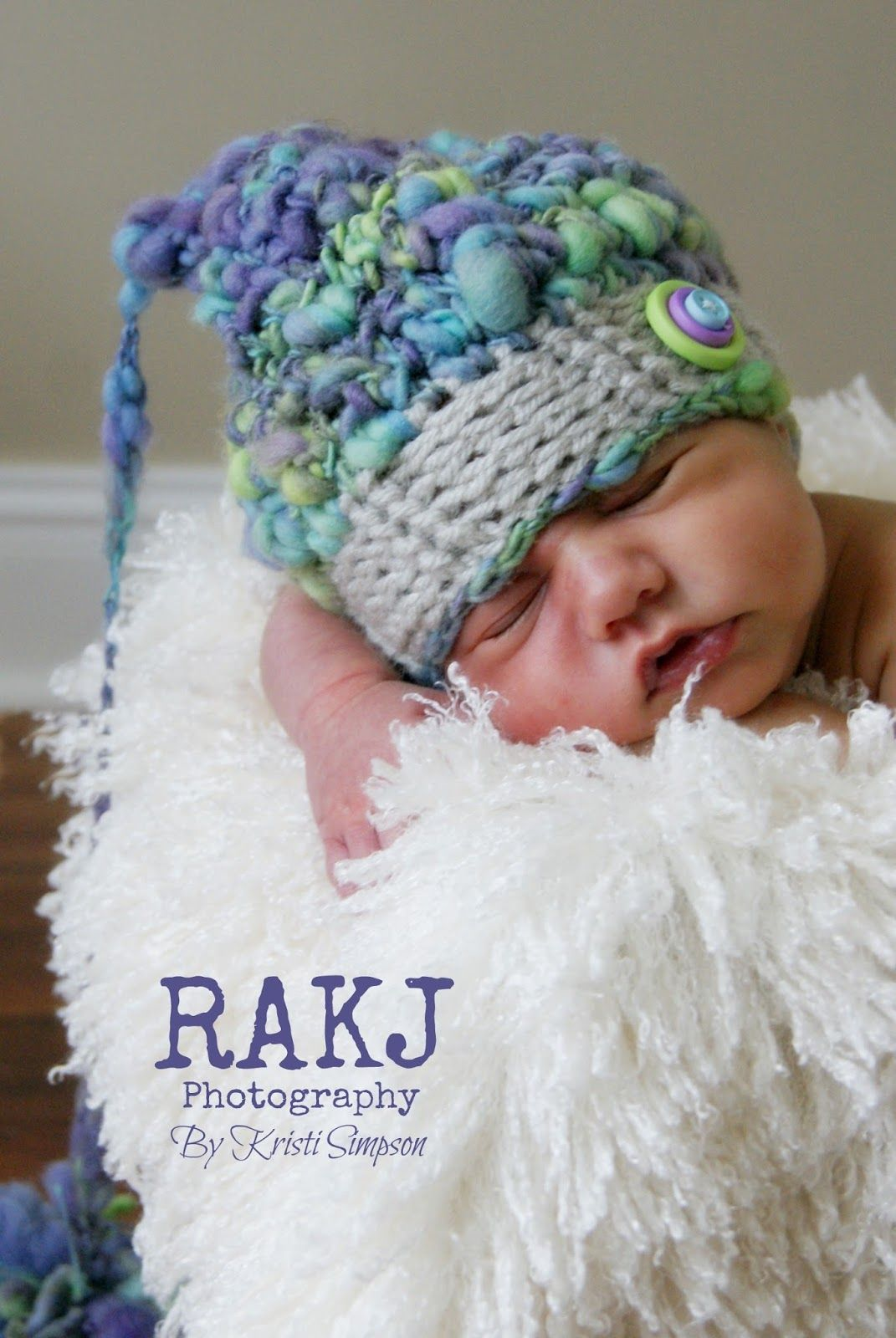 Kristi Simpson Designs: Pastel Pixie Hat Photo Prop Free Crochet ...