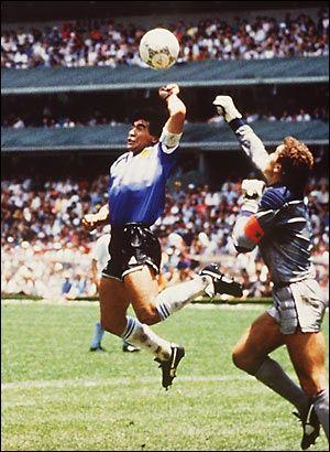 Goal God Hand Diego Maradona Mano De Dios Diego Maradona Futbol