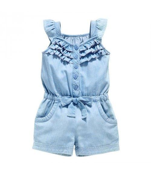 Macaquinho Lindo Verão - Macacão Infantil - Menina - Yanwu Baby clothes 2b551ae49eb