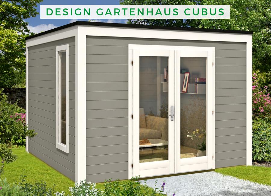 Design Gartenhaus Cubus3232 Design gartenhaus