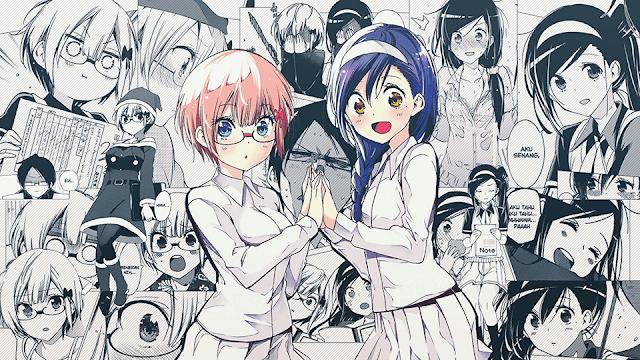 Rizu Ogata Fumino Furuhashi Bokuben Wallpaper Arte De Anime Fondo De Anime Fondo De Pantalla De Anime