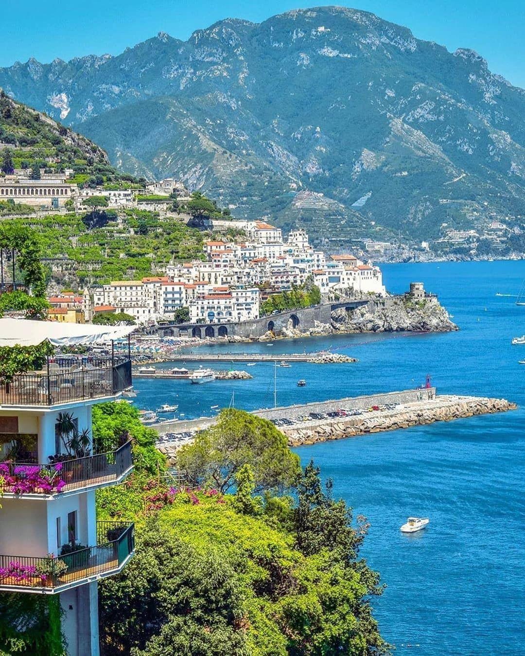 Amalfi Coast Italy S Instagram Profile Post Superb Views Over Amalfi Don T Miss The Opportunity To Enter The Win A Vacation Amalfi Coast Amalfi Coast Italy