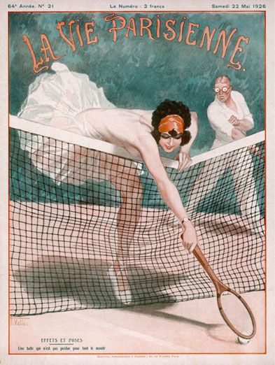 1000 Images About Retro Vintage On Pinterest: 30 Tennis-Themed Magazine Covers Throughout History