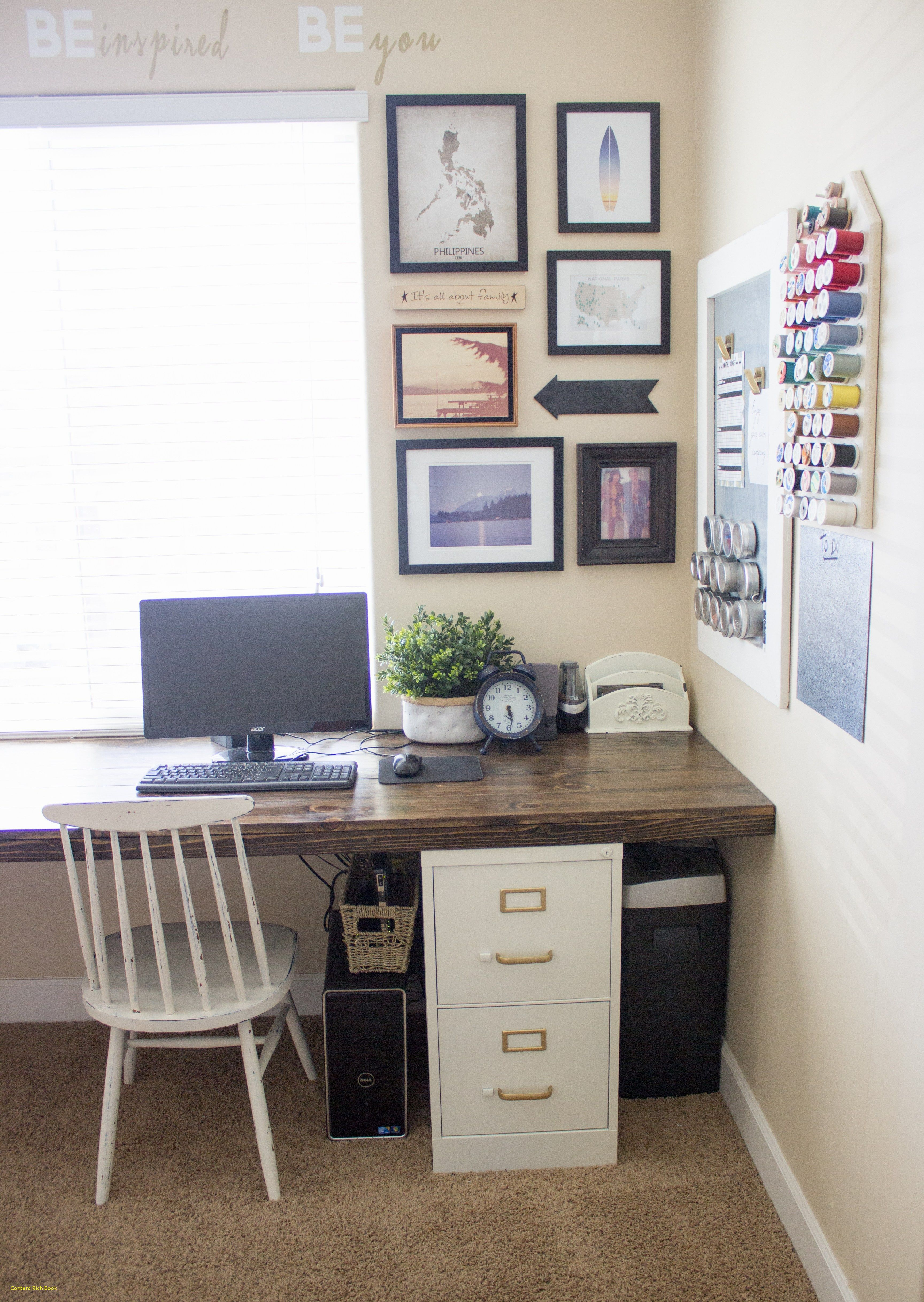 Another Home Office Makeover Green And Blue Heartworkorg Com Filing Cabinet Home Office Design Office Decor