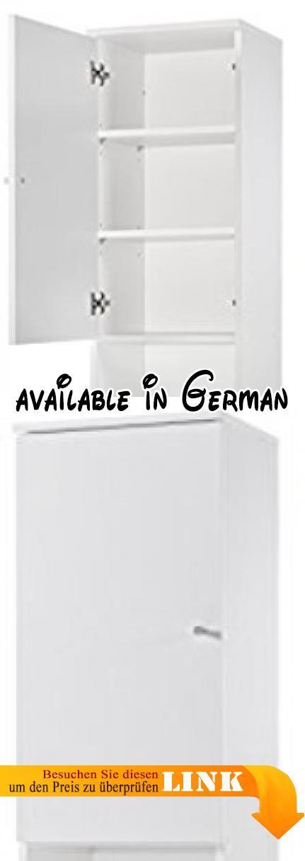 B01G7B03L6  Türen-Hochschrank weiss dekor - Hochschrank - hochschrank 30 cm breit küche