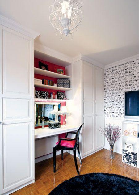 chambre-d-ado-miniloft - Décormag | habitación ordenador | Pinterest ...