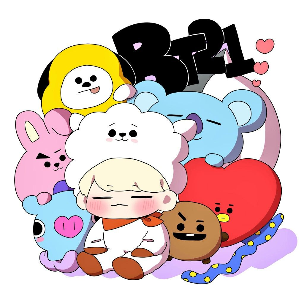bt21 fanart | ♡ | BT21 | Pinterest