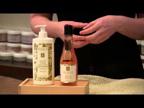 Mixology Monday Coconut Firming Body Lotion Apricot Body Oil Eminence Organics Youtube Body Oil Body Lotion Eminence Organic Skin Care