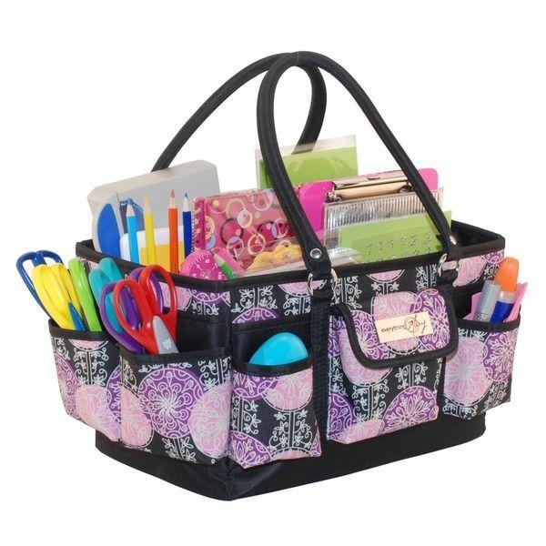 17 Pocket Deluxe Scrapbook Carry Bag Arts Crafts Organizer Carrier Storage Tote  sc 1 st  Pinterest & 17 Pocket Deluxe Scrapbook Carry Bag Arts Crafts Organizer Carrier ...