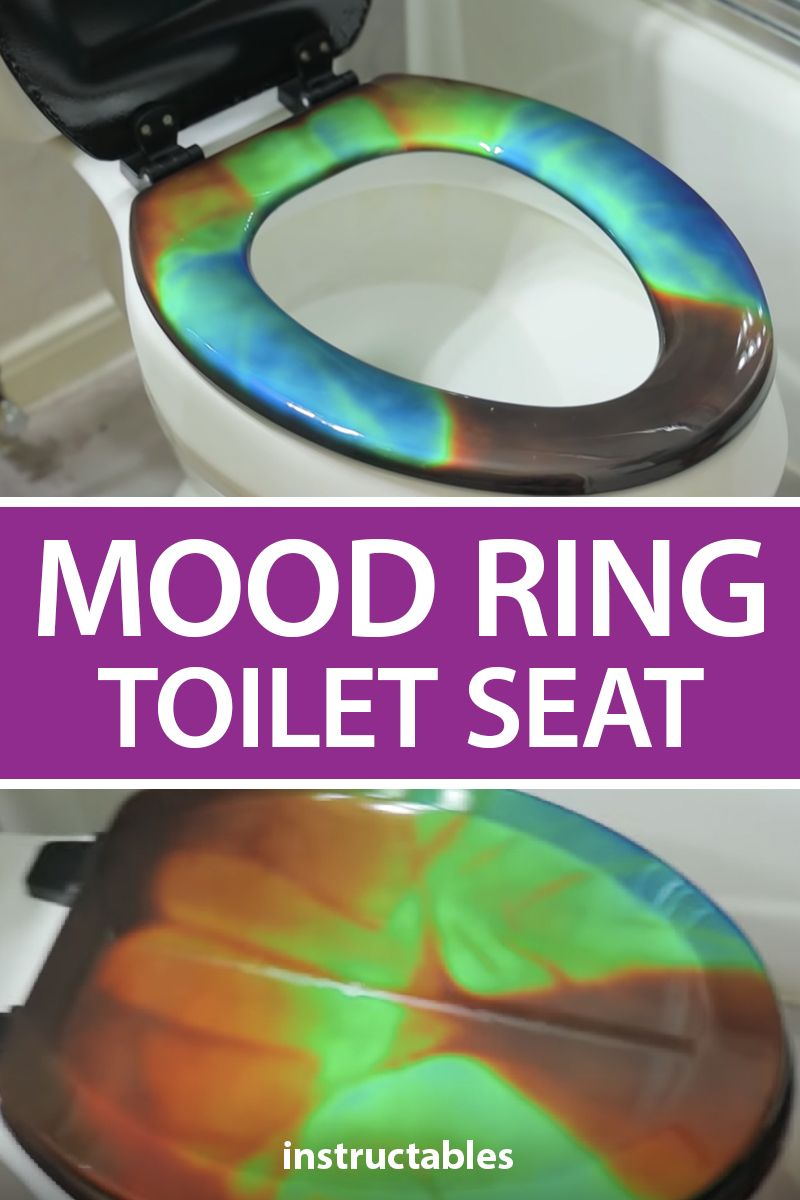 Mood Ring Toilet Seat What In 2020 Mood Ring Bathroom Tile