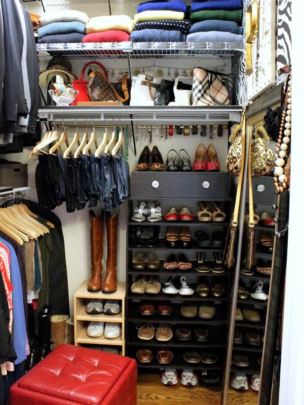 Etonnant Brillant Organizing For A Small Space Via 25 Ways To Store Shoes In Your  Closet : Rooms : Home U0026 Garden Television