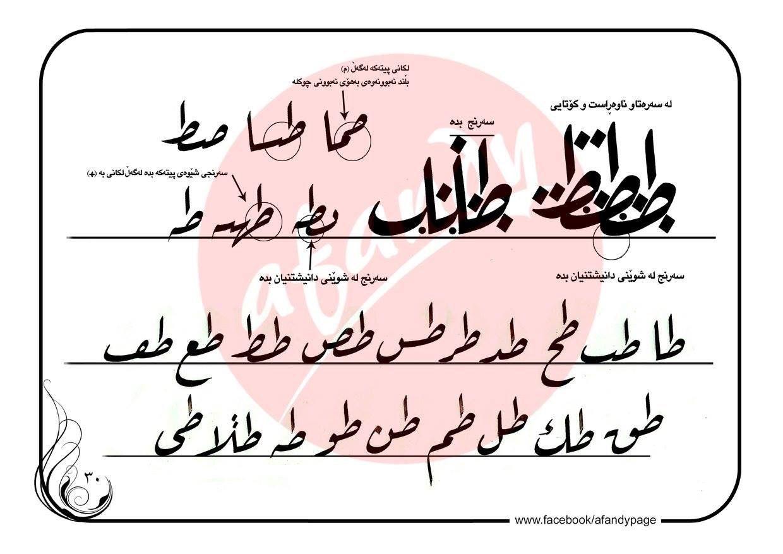 سوف الجين adlı kullanıcının خط الرقعة 12 panosundaki Pin