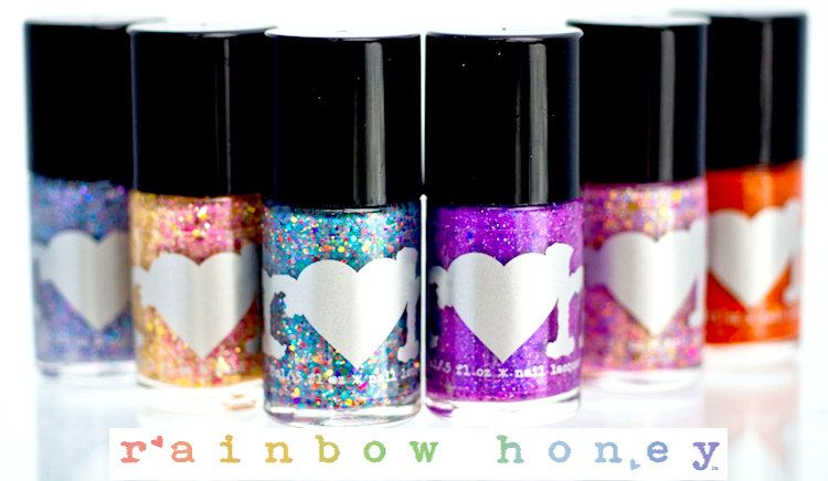 Rainbow Honey Nail Polish available at https://esthersnc.com/nail ...