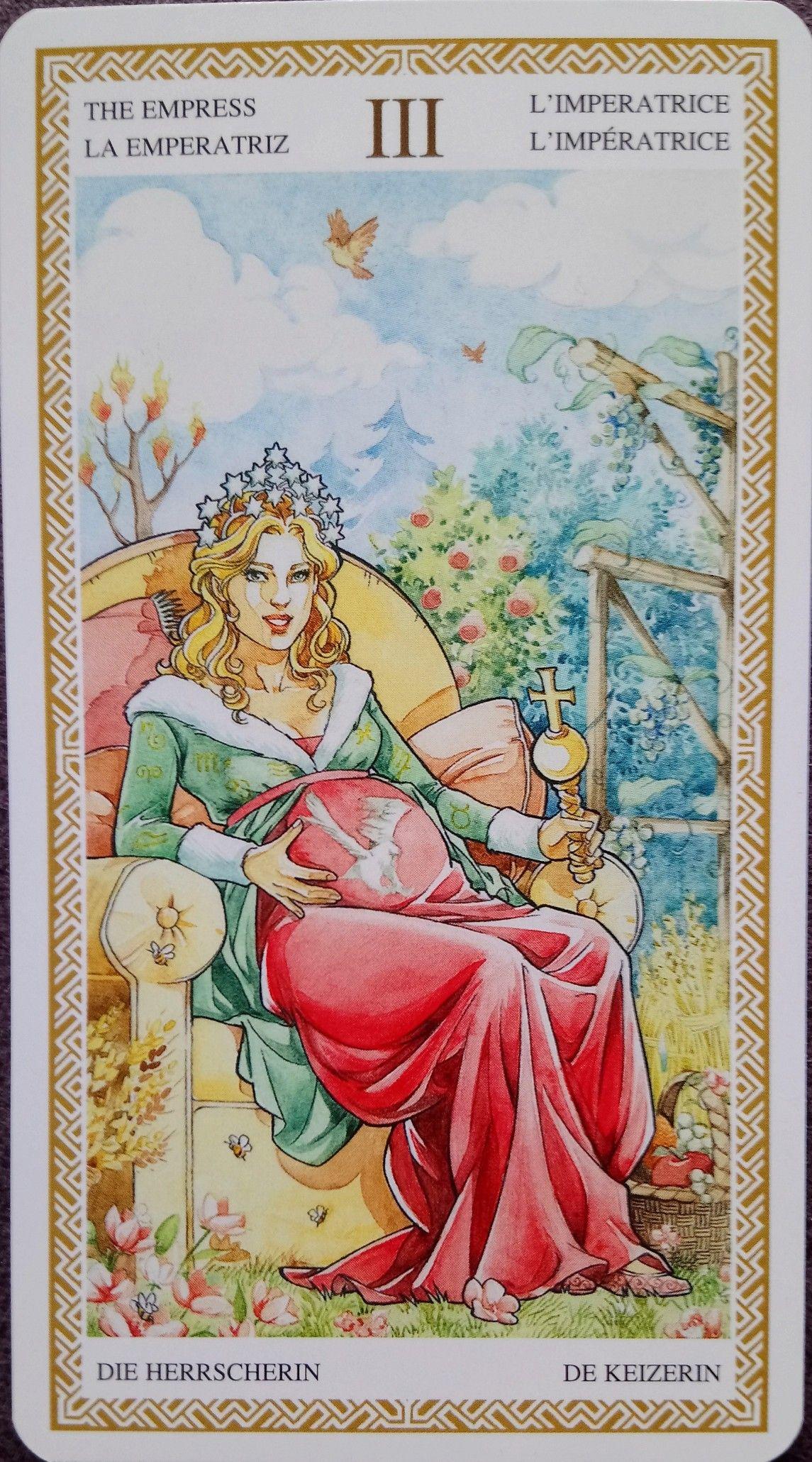 Lo Scarabeo Tarot Tarot Art Empress Tarot Art