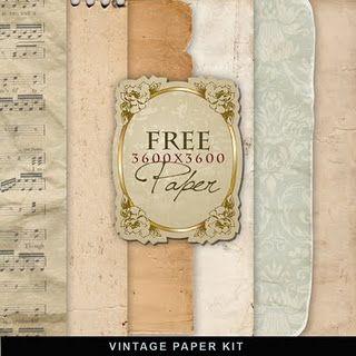 free backgrounds paper paper scrapbook vintage paper