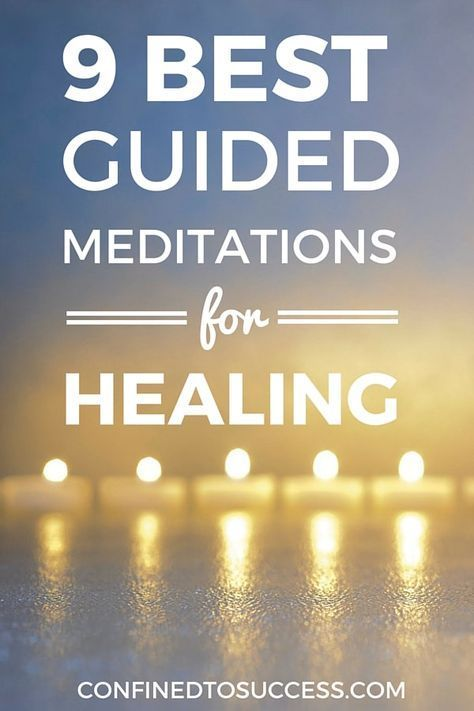 Would you like to see the best free guided meditations for healing? Find out what they are and start to improve your meditation practice!