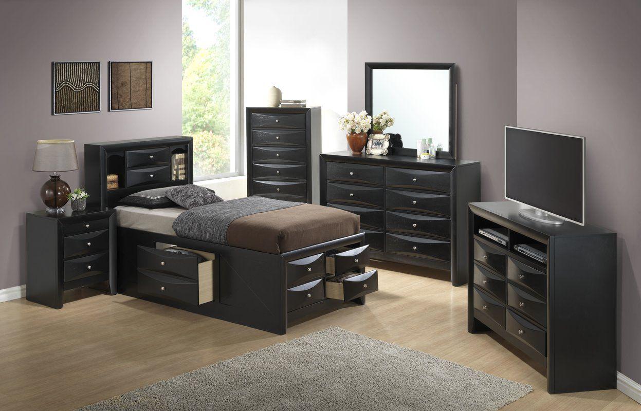 Towslee Platform Configurable Bedroom Set in 2020 5