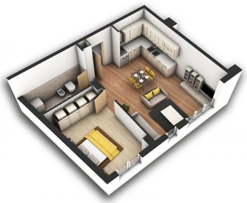 Vendita Appartamento a Tirana (Albania) frosina plaku euro 47000 - plan maison 3d gratuit