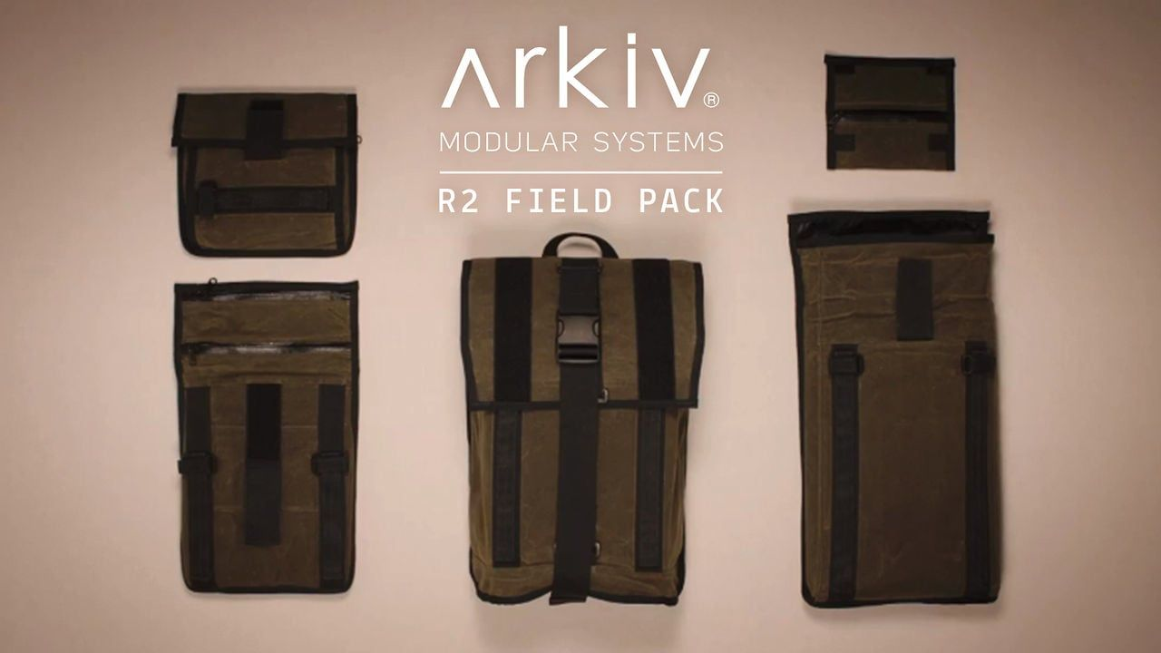 r2 arkiv field pack stop motion | backpacks | stop motion
