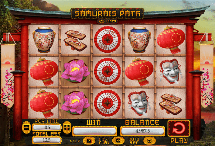 Samurai Path Slot Machine