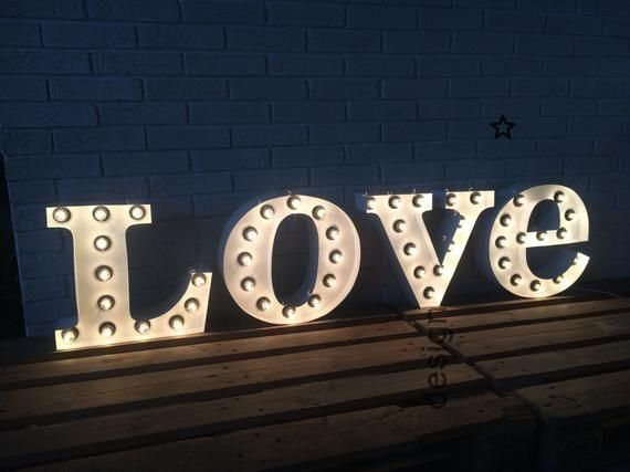 marquee metal letters LOVE light up sign WEDDING decor. Wedding light up love metal illuminated sign. Channel letter with real bulbs, metal letters LOVE light up sign WEDDING decor. Wedding light up love metal illuminated sig...