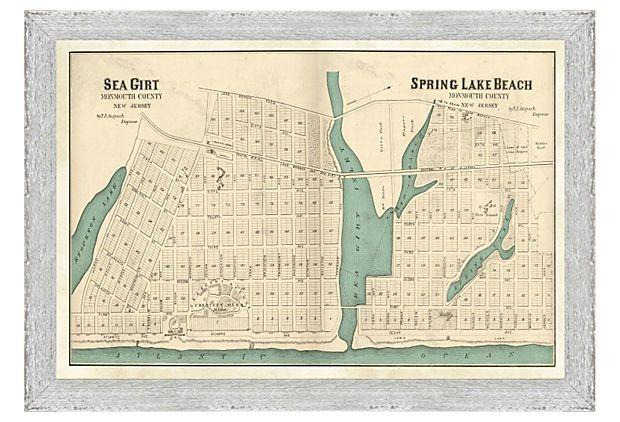 map of spring lake nj Sea Girt Spring Lake Beach Map Spring Lake Beach Spring Lake map of spring lake nj