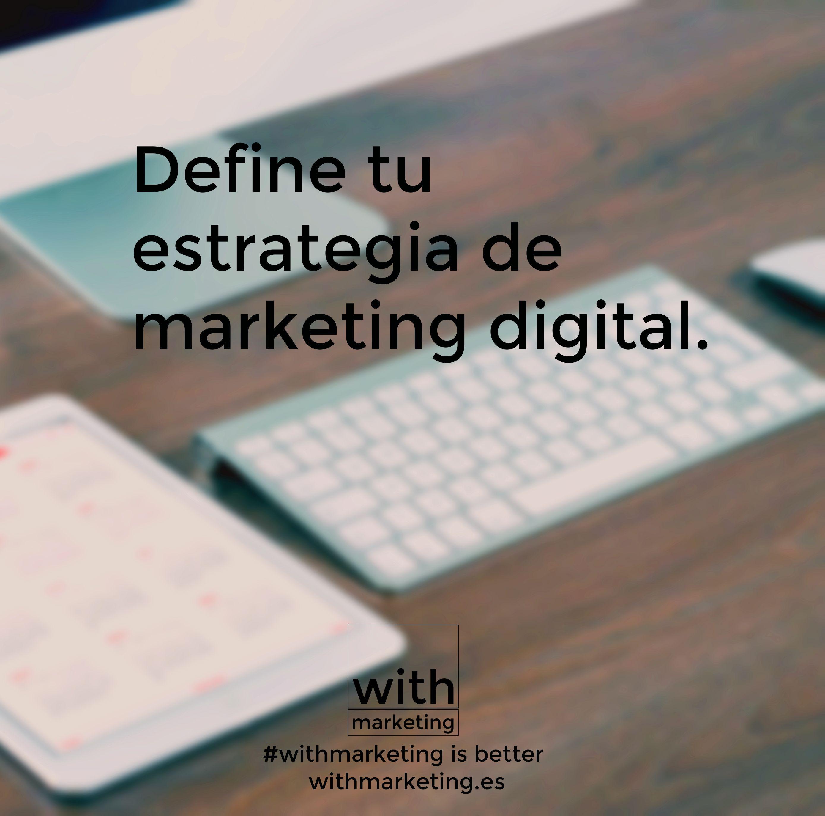 7 pasos importantes para tu Plan de Marketing Digital  #withmarketing #marketing #marketingdigital #web #seo #blog #estrategia #navarra #pamplona #diseño #comunicación #fotografía #vídeo